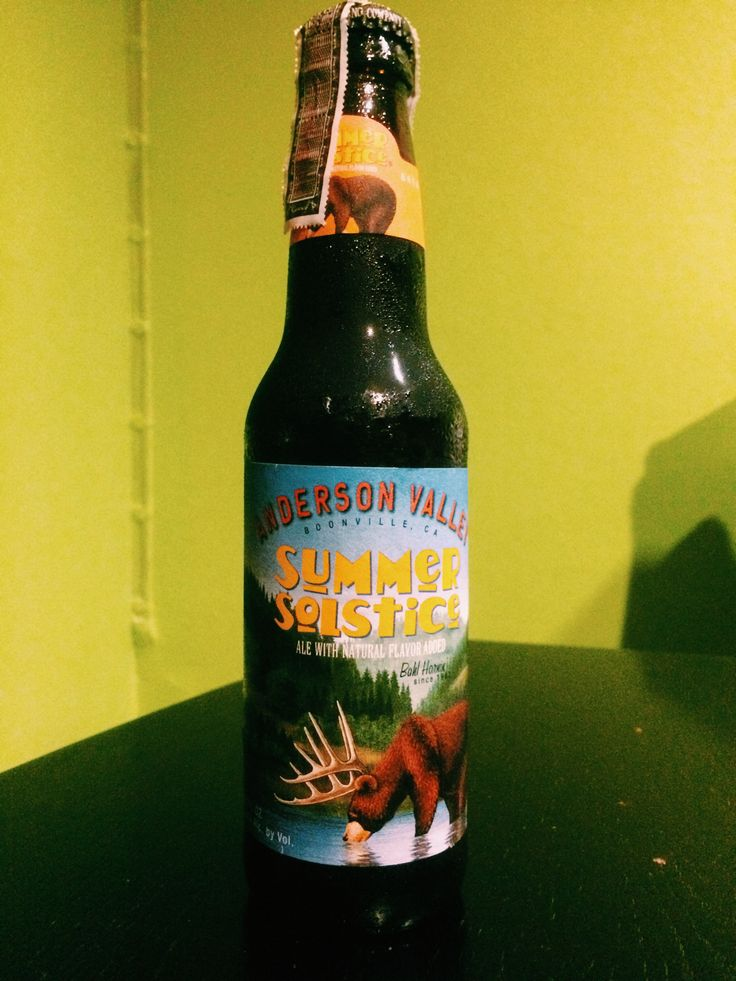 ANDERSON VALLEY : Summer Solstice Ale