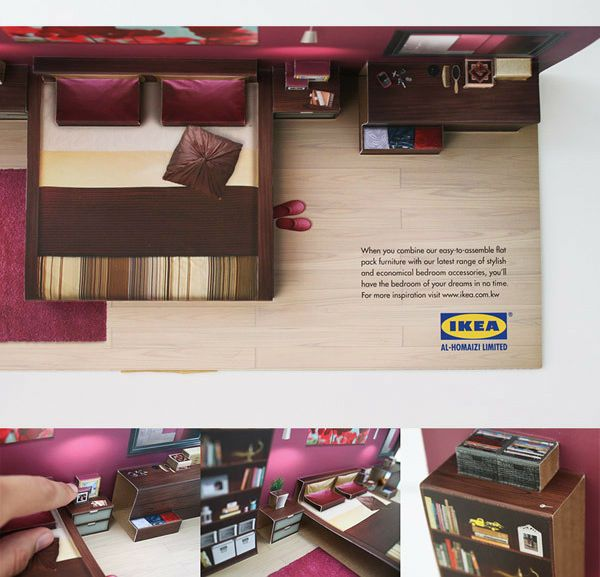 IKEA 3-D direct mail mailer @Jess Liu Huffman um. Is this a bad idea for you?