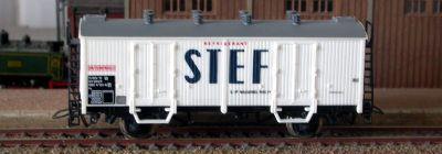 Jouef réf. 6280 wagon couvert frigorifique Is 11 87 082 4 131-6 SNCF type standard C/D