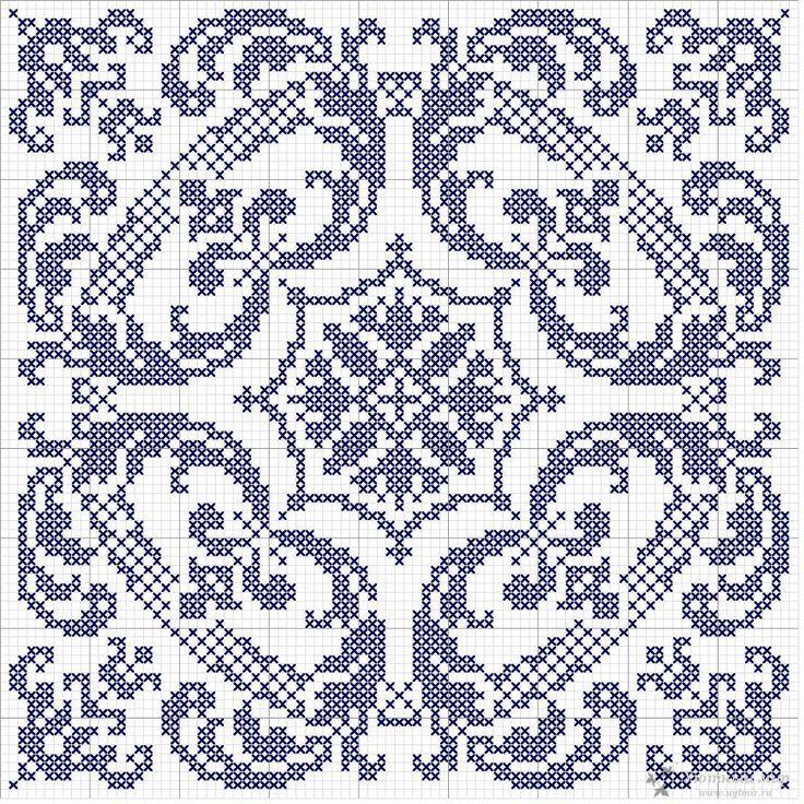 Орнаменты - для вышивки и вязания. Обсуждение на LiveInternet - Российский Сервис Онлайн-Дневников