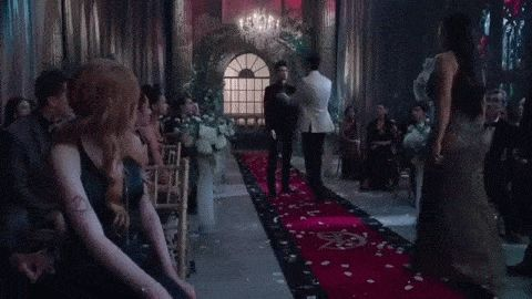 Magnus and Alec's Kiss Full Scene HD (Shadowhunters) [1x12]