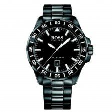 Hugo Boss Gent Black PVD Deep Ocean Watch 1513231