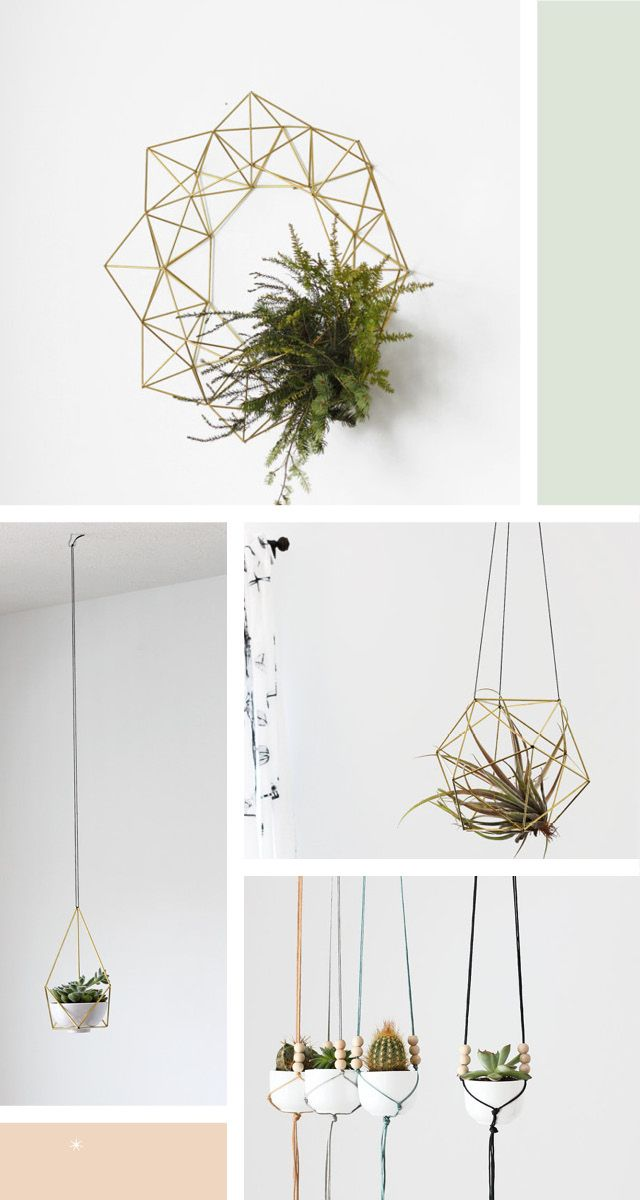HRUSKAA - Himmeli Mobiles, Hanging Planters & Lighting