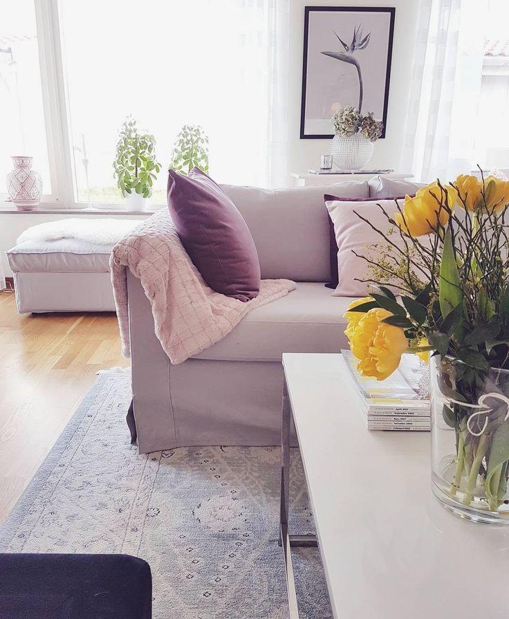 Ikea Karlstad soffa med klädsel från Bemz