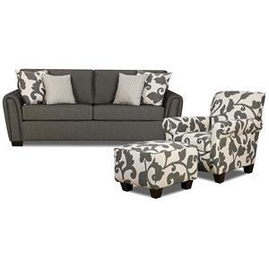 Best Sofa Accent Chair And Ottoman Nebraska Furniture Mart 400 x 300
