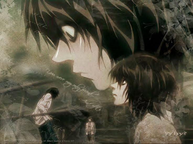 death+note+l | Death Note L in the Rain