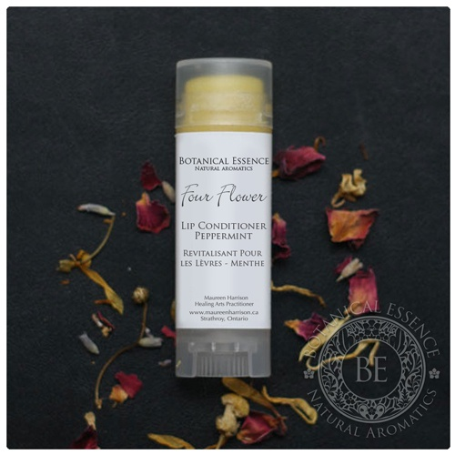 Four Flower Lip Conditioner - Peppermint A long lasting lip conditioner which, soothes, moisturizes and conditions lips.