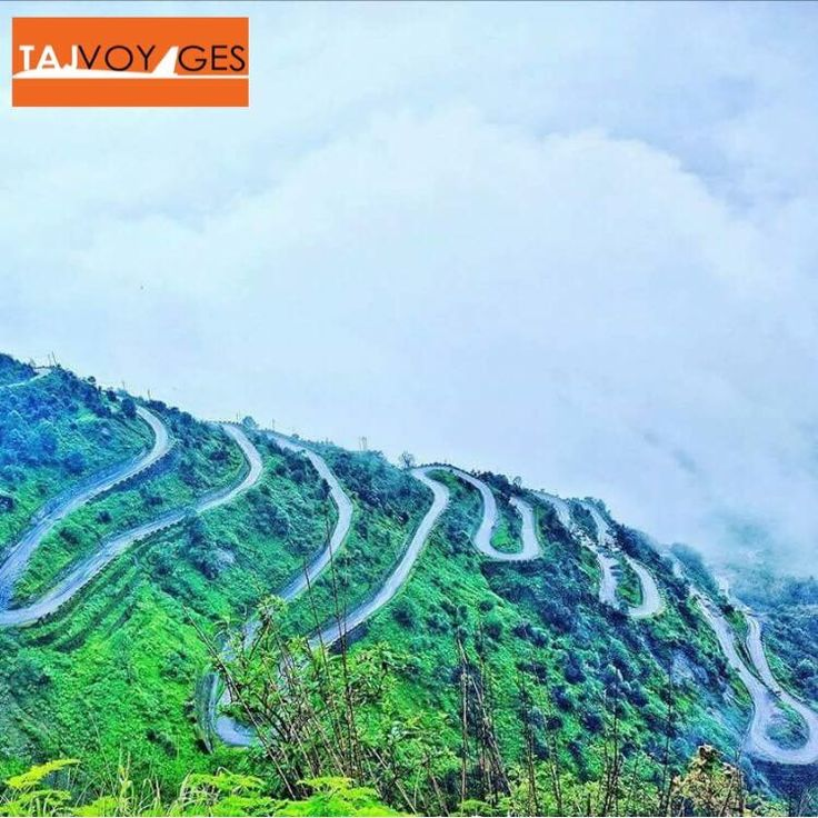 This is how Silk Route of Sikkim looks like from a height. www.tajvoyages.com.au #Sikkim #travelwithus #ilovetravel #IncredibleIndia #TajVoyages