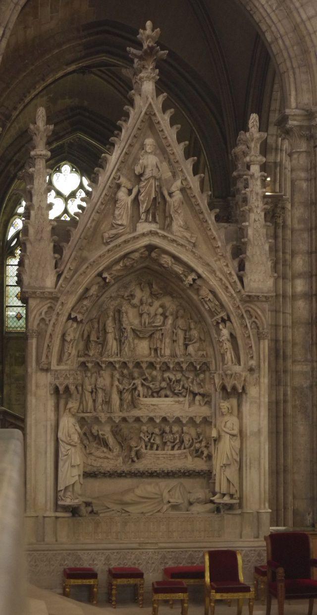 Saint-Denis Basilica: A Complete Guide: Tomb of King Dagobert I