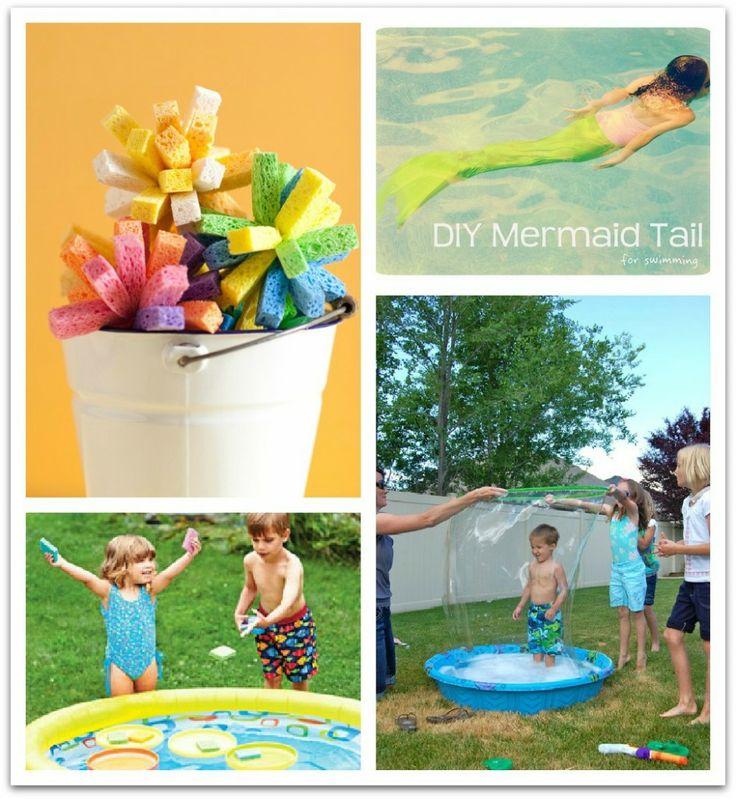 6 DIY pool games for kids