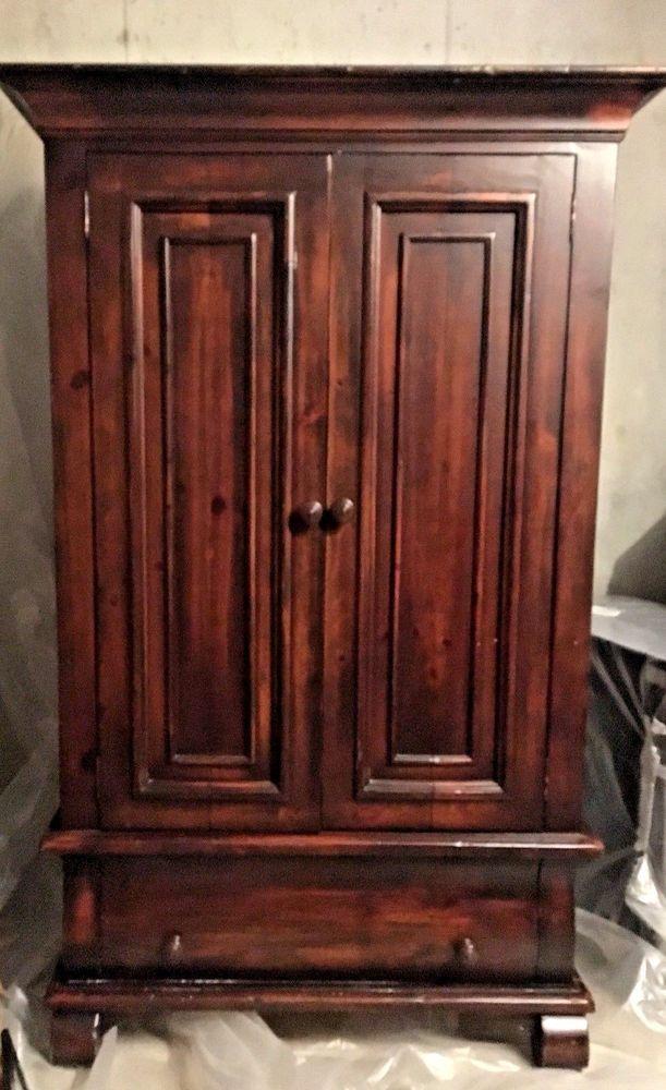 vintage mahogany solid wood wardrobe