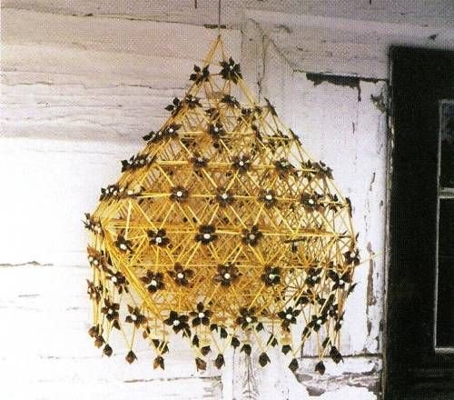 Poland: protective ornament called 'pająk' (spider).