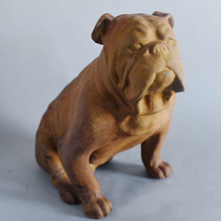 Les 25 meilleures id es de la cat gorie statue bouledogue for Brick oven stoneware jardin bleu