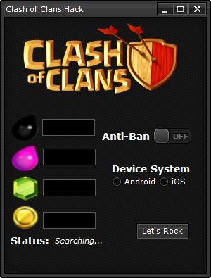 The most powerful tool for Clash of Clans in the history! Get Clash of Clans Hack right now! http://www.etoolsworld.com/clash-of-clans-hack/