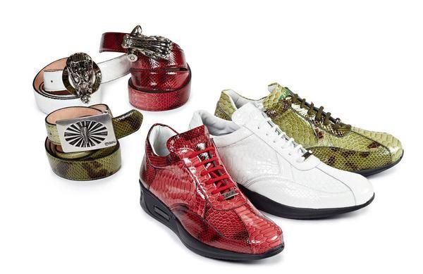 Mauri - M788 Malabo Patent Leather Sneakers