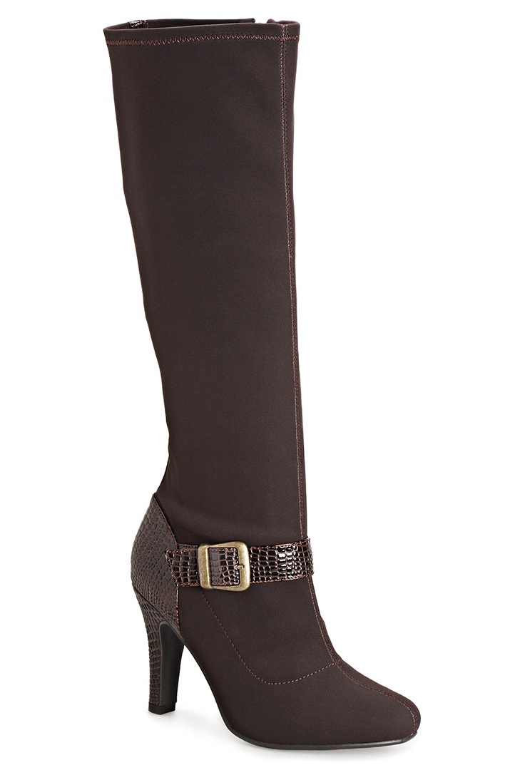 Plus size sexy boot