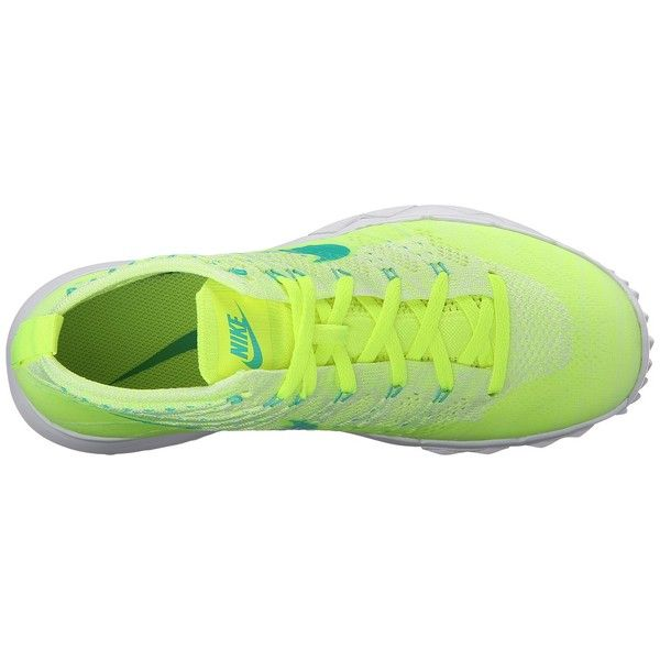 Nike Golf FI Flyknit Chukka Volt Clear Jade White Liquid Lime