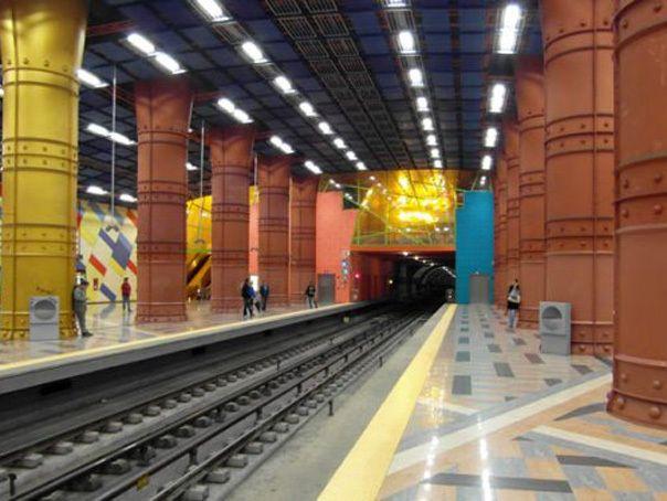 Cele mai frumoase şi interesante 20 de staţii de metrou din lume - GALERIE FOTO - Mediafax