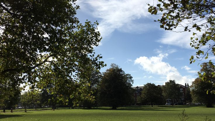 IPhone 6 Plus s FeiyuTech G4 gimbal and an uber cab ride by Clapham Common. No drone zone! UK