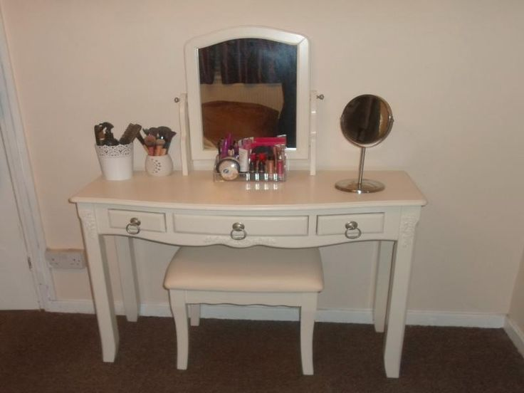 drawer cheap detail girl vanity white simple dressing table wood modern with product