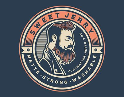 """Check out new work on my @Behance portfolio: """"Sweet Jerry - Logo"""" http://be.net/gallery/47512455/Sweet-Jerry-Logo"""