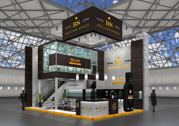 Exhibition Stand Design Competition : Rise above your competition take that quite literally on