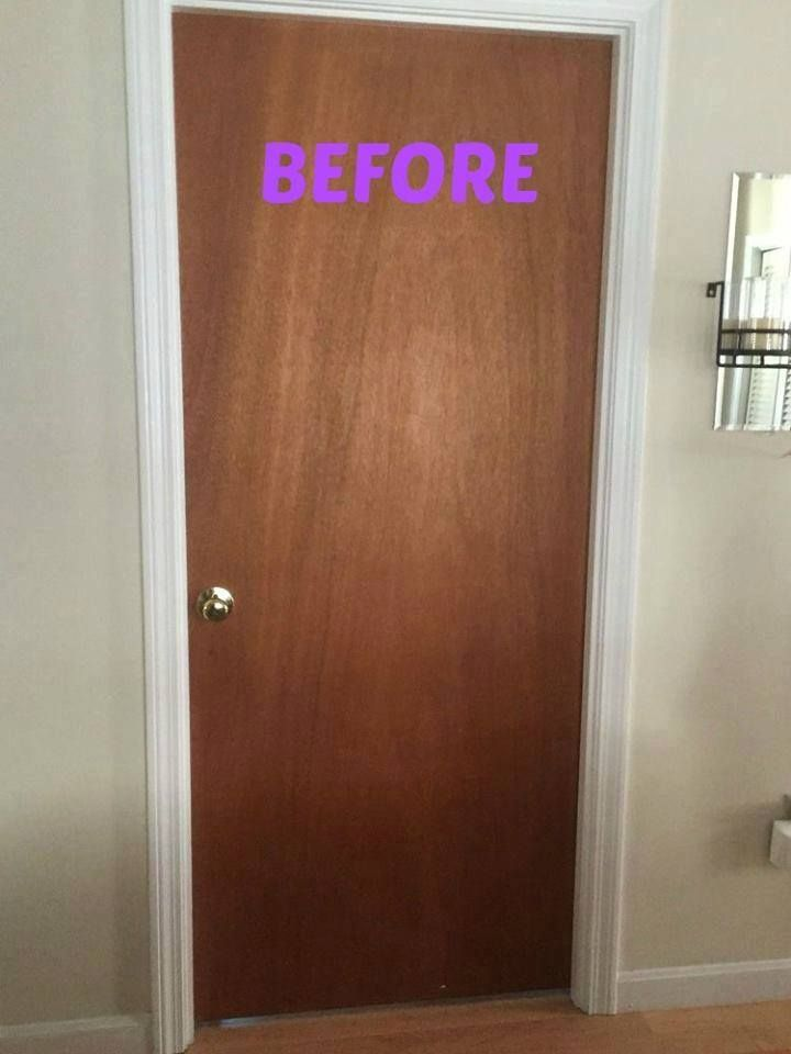 """""""I have the same ugly doors - thank you for the idea!"""" said a reader"""