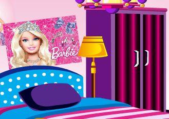 Barbie Hayranı Odası Düzenleme oyunu