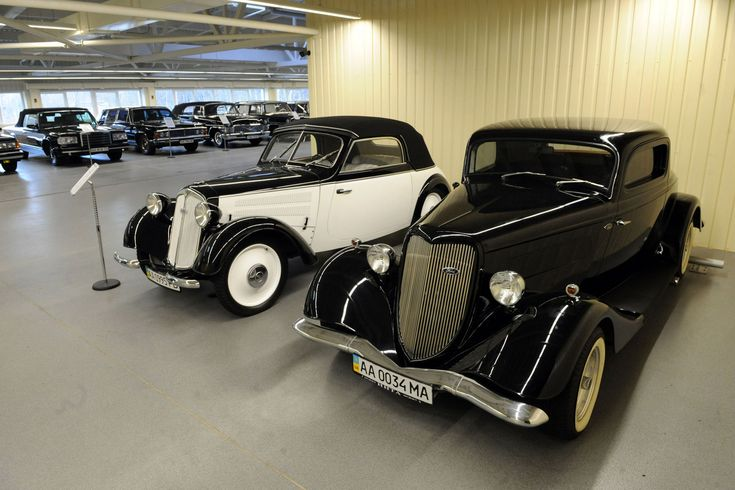 Viktor Yanukovych's Car Collection Was a Private Automotive History Museum - NYTimes.com