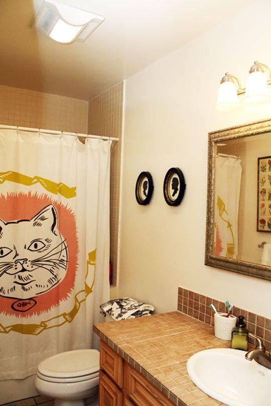 Artwork in the Bathroom