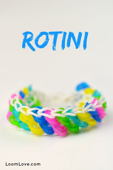 How to Make a Rainbow Loom Rotini Bracelet #rainbowloom