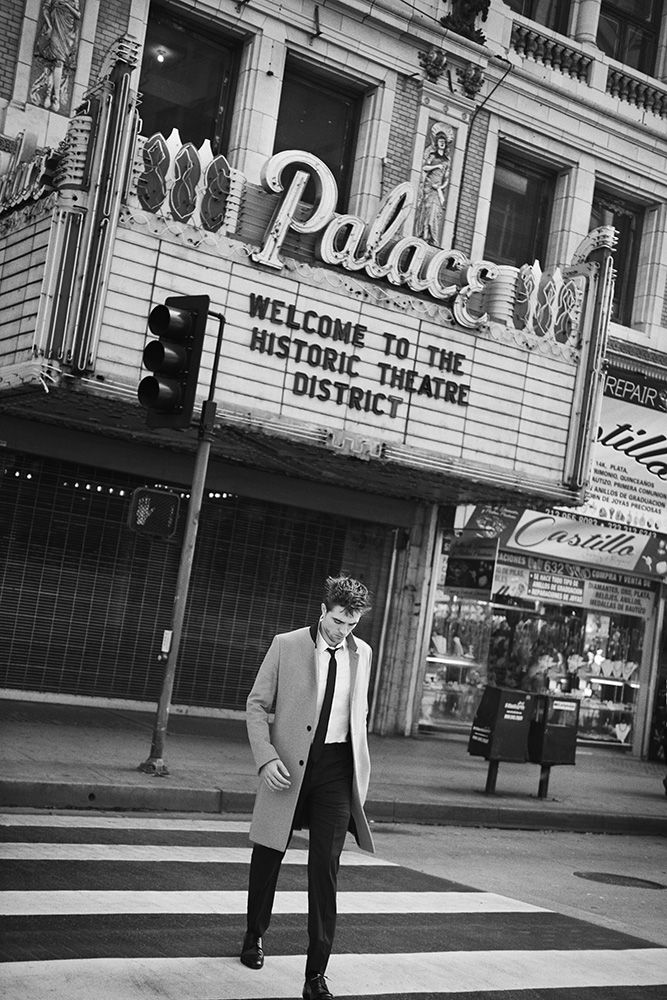PETER LINDBERGH | Robert Pattinson, Dior Homme | Robert Lussier, The Style Council Paris