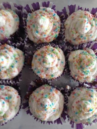 Cupcakes vegan sans lait ni oeufs - Recette de cuisine Marmiton : une recette