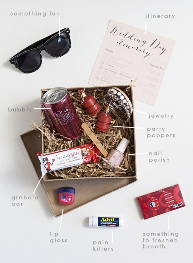 "DIY: Bridesmaid Survival Kit + free ""Wedding Day Itinerary"" editable pdf printable!!!"