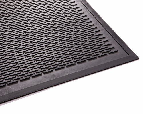 Follow us to http://freecycleusa.com Genuine Joe Scraper Outdoor Rubber Mat, 4 by 6-Feet, Black