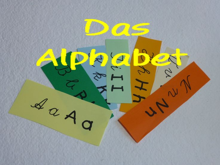 Learn German:  Das ABC (+ ß, ä, ö, ü)