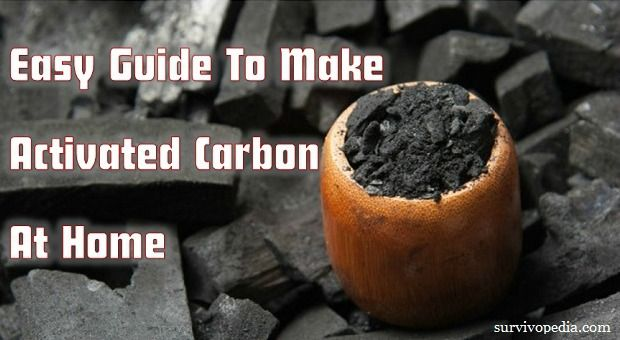 Activated carbon has a lot of uses and air and water filtration is on top of them. Here is how to make activated carbon at home.