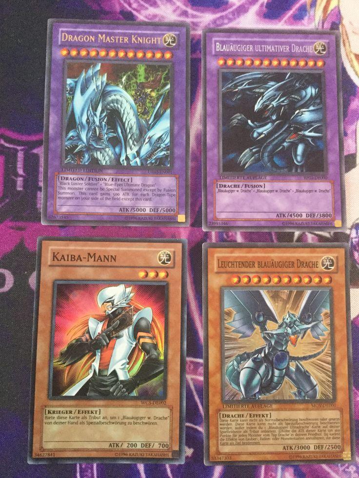 Dragon Master Knight UE02 Blue-Eyes Ultimate Dragon RP01 Kaibaman WC5 Blue-Eyes Shining Dragon MOV