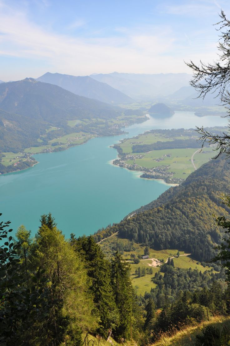 Lake Wolfgangsee in #Austria