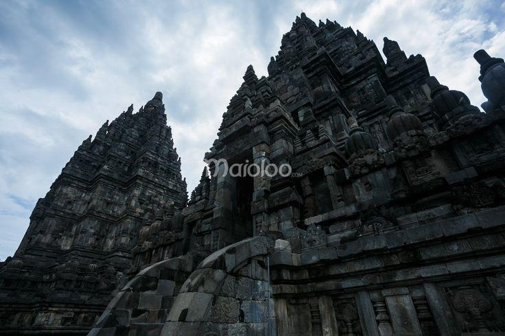 Arsitektur Candi Prambanan. (Benedictus Oktaviantoro/Maioloo.com)