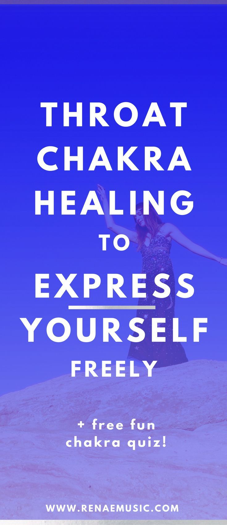 Express yourself freely with throat chakra healing  throat