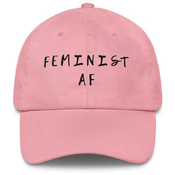 055fc4f67 Feminist AF Classic Cap (336.200 IDR) ❤ liked on Polyvore featuring ...