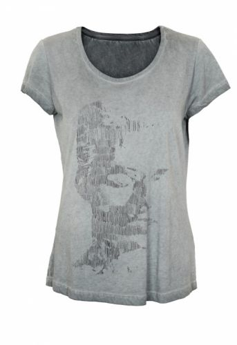 Denim Hunter Elsa T-shirt Dark Grey - T-shirts - MaMilla