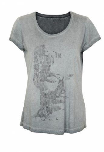 Denim Hunter Elsa T-shirt Dark Grey - T-shirts - MaMilla