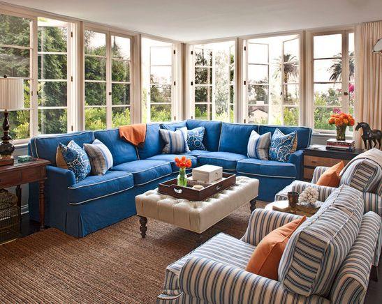 72 Best Living Room Decor Brown Blue And White Palette Images On Pinterest Blue