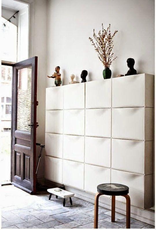 Ikea Schuhschrank Antik Gebeizt ~ Más de 1000 ideas sobre Closets Pequeños en Pinterest  Vestidor