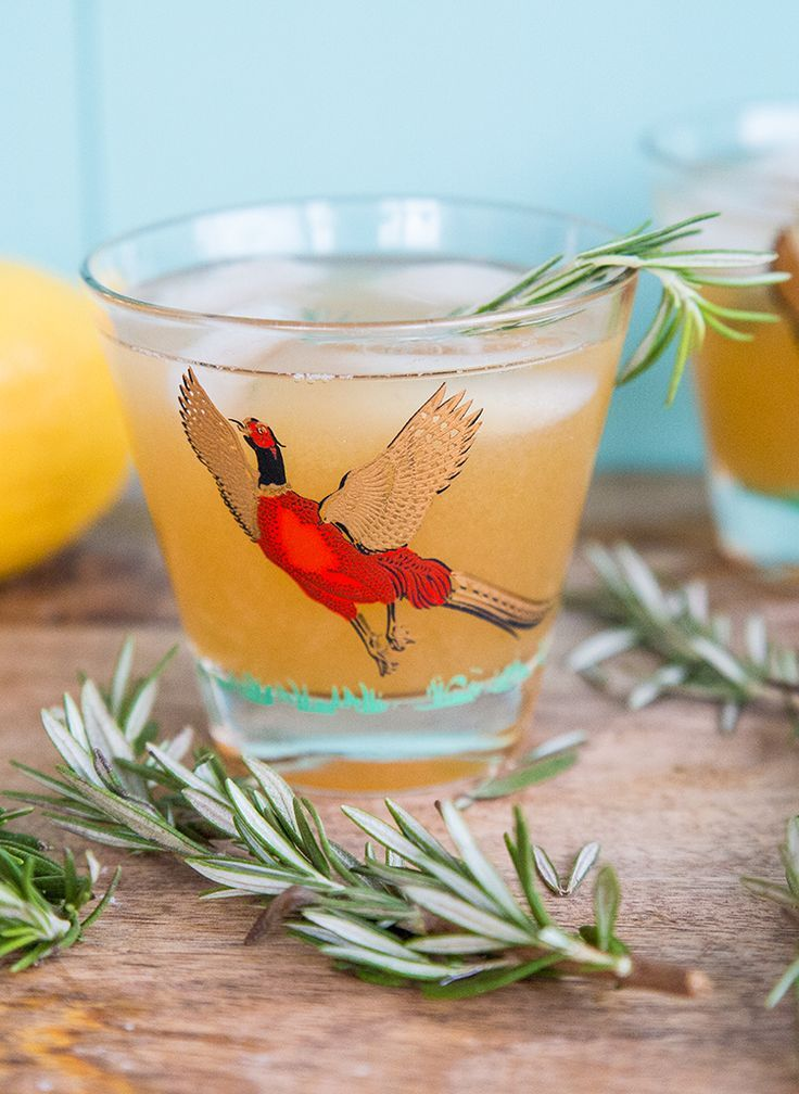 awesome Maple Rosemary Bourbon Sour from The Kitchen Magpie. The perfect holiday drink!!...
