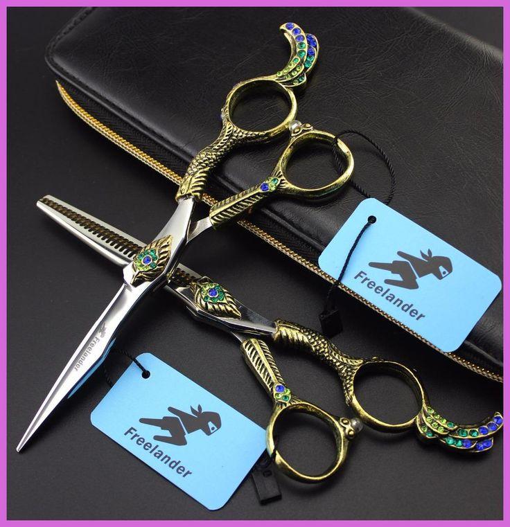 Japanese Professional 6 inch Hair Cutting Thinning Scissors Set Kapper Hairdressing Shears Scharen Makas Forbici Capelli