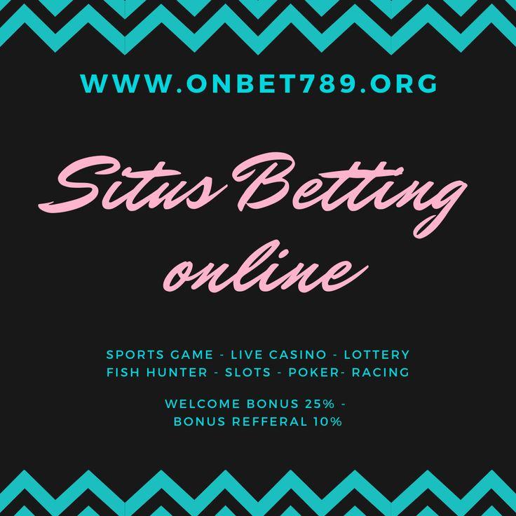 Gabung sekarang bersama situs betting online terpercaya