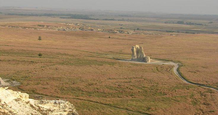 Castle Rock Badlands near Quinter, KS